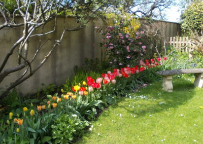 St Johns Gardens in April